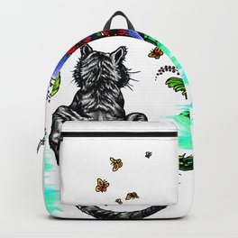 Tiger Paint Backpack