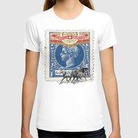cuba T-shirts featuring VINTAGE CUBA by RIGOLEONART
