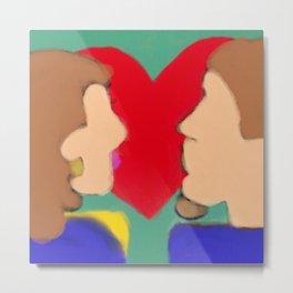 Heart of Love Series 1 Metal Print