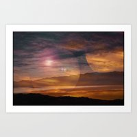 Sunset II Art Print