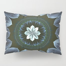 Blossom Within in White Pillow Sham