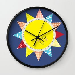 In the sun Wall Clock
