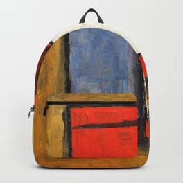 Abstract shapes - Joaquin Torres Garcia Backpack