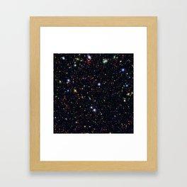 COSMOS Field Framed Art Print