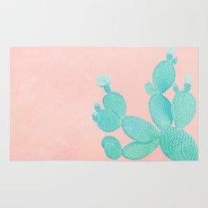 Pastel Cactus Rug