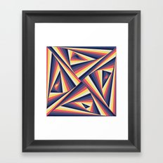 TwiangleTres Framed Art Print