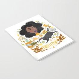 Hufflepuff House Illustration Notebook