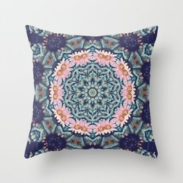 Shaping Realities (Mandala) Throw Pillow