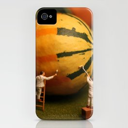 Nature's Painters iPhone Case