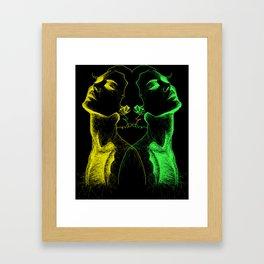 constricted Framed Art Print