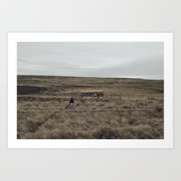 That NW Bus  Art Print
