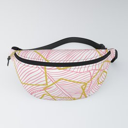 When Geo Meets Nature Series 1- Tropical Geo Blush Fanny Pack