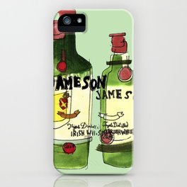James & Son iPhone Case