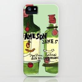 James & Son iPhone Case
