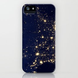 1461. City Lights of the United States 2012 iPhone Case