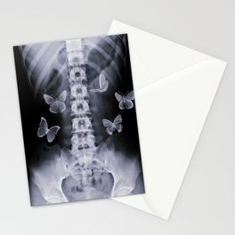 X-Ray Conceptual Butterflies  Stationery Cards