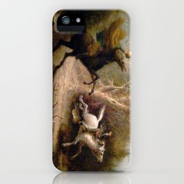 Vintage Art of Sleepy Hollow  iPhone Case