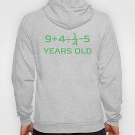 20 Years Old Math Equation Funny 20th Birthday Hoody