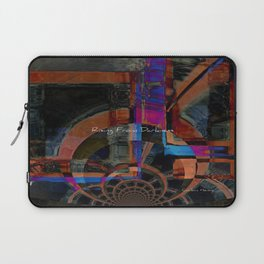 Rising From Darkness Abstract - Happiness - Inspiration Laptop Sleeve