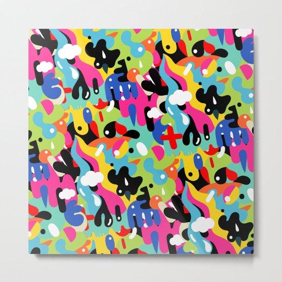 Color blobs Metal Print