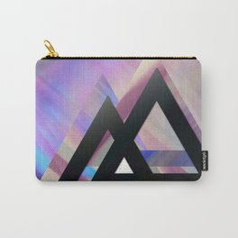 Violet triangles Carry-All Pouch