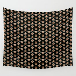 Pattern with stars 1 Wall Tapestry