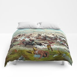 Custer's Last Stand Comforters