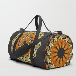 Kaleidoscope of butterflies and flowers Duffle Bag