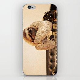 Rockstar Sloth iPhone Skin