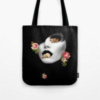 noir Tote Bags featuring : noir : by Bauerhorst