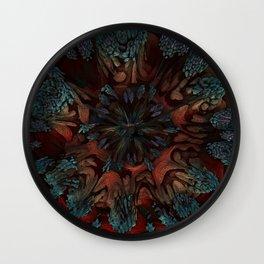 Sunburst Supernova Wall Clock