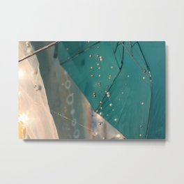 String of Pearls Metal Print