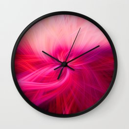 Dimensional Flower X Wall Clock