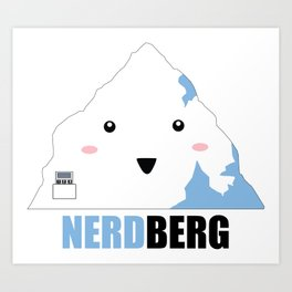Nerdberg Art Print