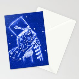 Nutcracker in Bright Blue Stationery Cards