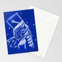 Nutcracker in Bright Blue Stationery Cards
