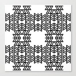 Z Pattern Canvas Print