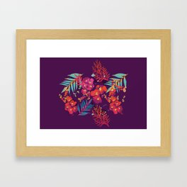 flower party Framed Art Print