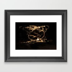 Let It Burn Framed Art Print