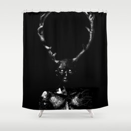 Wendigo Shower Curtain