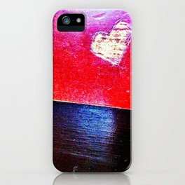 Food court heart. iPhone Case