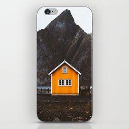 Yellow Cabin iPhone Skin