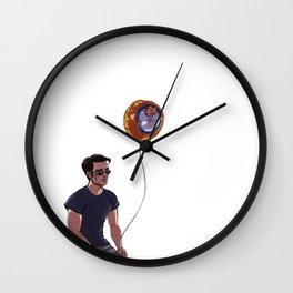 Precious Catholic Dumpster Ninja Wall Clock