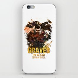 League of Legends GRAVES - [The Outlaw] iPhone Skin