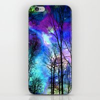 decal iPhone & iPod Skins featuring fantasy sky by haroulita