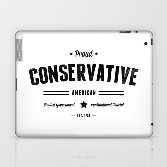 Proud Conservative American Laptop & iPad Skin