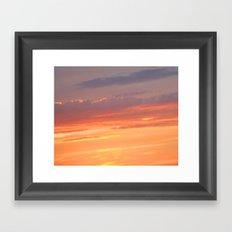 Berkshires Sunset IV Framed Art Print