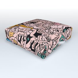 Kamasutra LOVE - Flesh Pink Outdoor Floor Cushion