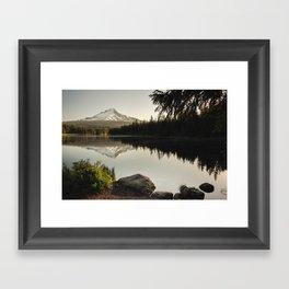 Trillium Mornings Framed Art Print