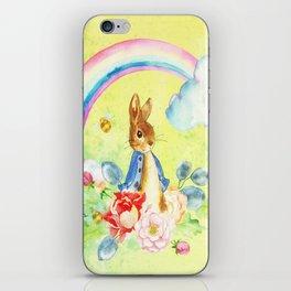 Hoppy The Bunny 2 iPhone Skin